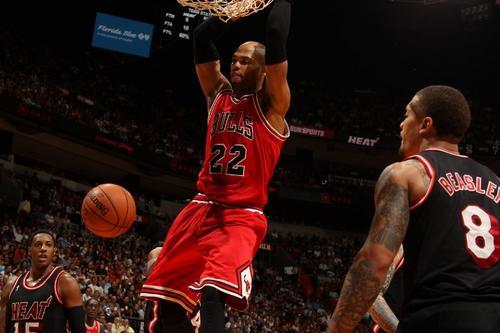 Aún con la ausencia de LeBron James los Heat de Miami derrotaron a los Bulls de Chicago. (Foto: AFP)