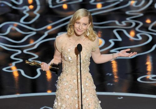 Cate Blanchette culminó una magnífica temporada de premios, ganando el Oscar. (Foto: AFP)