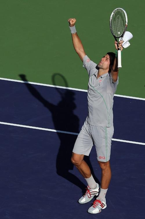 Djokovic disputará la final del Indian Wells ante Federer. (Foto: AFP)