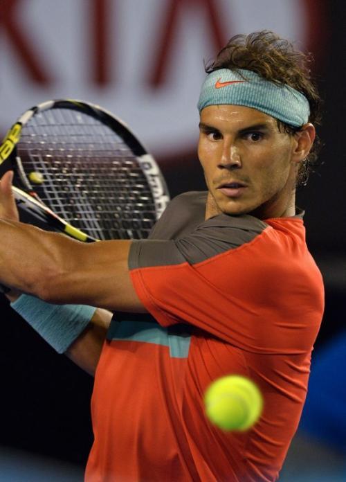 A pesar de caer en la final del Abierto de Australia en Melbourne, el español Rafael Nadal sigue liderando el escalafón mundial de la ATP. (Foto: Paul Crock/AFP)