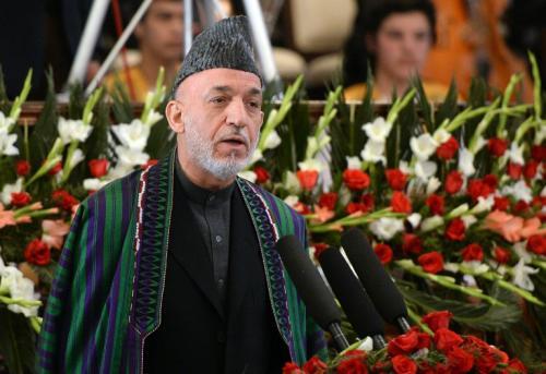 Hamid Karzai, presidente de Afganistán durante 12 años. (Foto: AFP)