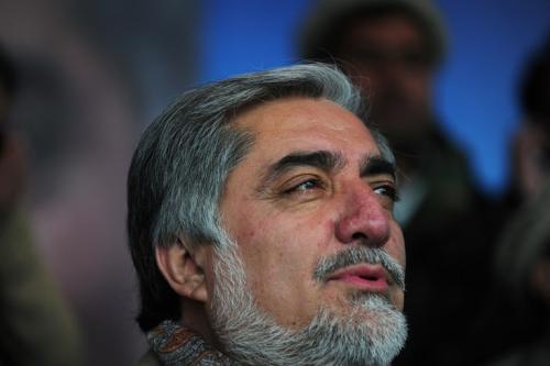 Abdulá Abdulá es considerado líder de la comunidad tayika por su ascendencia materna y por su estrecho vínculo con Ahmed Sha Masud, que murió en 2001 en un atentado orquestado por Al Qaeda con apoyo talibán solo dos días antes de los ataques del 11-S en EEUU. (Foto: AFP)
