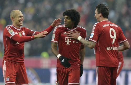 El Munich de Guardiola lidera la Bundesliga con 53 puntos tras 19 jornadas. (Foto: Christof Stache/AFP)