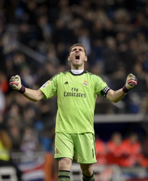 Iker Casillas sumó 8 juegos consecutivos son recibir gol. (Foto: Dani Pozo/AFP)