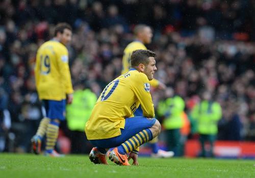 El Arsenal cayó 5-1 ante el Liverpool y perdió la oportunidad de recuperar el liderato de la Premier tras el empate del City. (Foto: Andrew Yates/AFP)