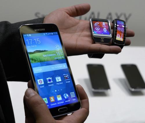 Lo nuevo de Samsung: el Galaxy S5. (Foto: AFP)