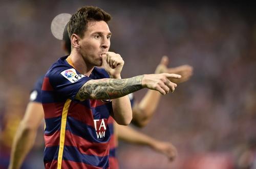 A Mateo, para él fue el gol de Lionel Messi, el pequeño hijo del astro argentino que recién nació hace algunas horas. (Foto: AFP)