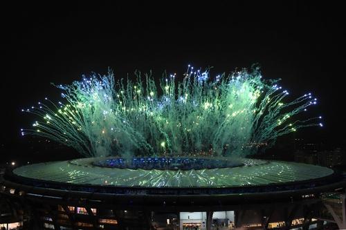 Así se veía, desde fuera, el Estadio Maracaná. (Foto: AFP)