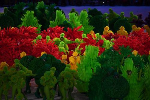 Los colores abundaron en el Maracaná. (Foto: AFP)