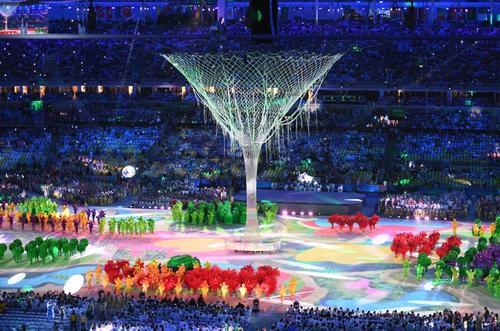Esta fue una de las escenas finales de los Juegos Olímpicos. (Foto: AFP)