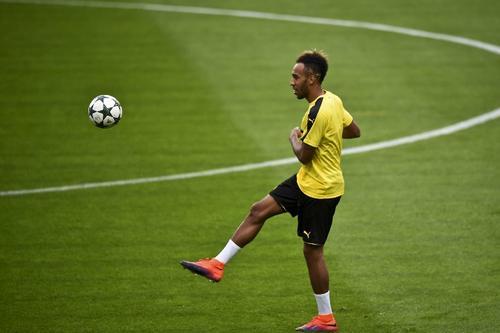 Pierre Emerick Aubameyang, estrella del Dortmund y objetivo del Real Madrid. (Foto: AFP)