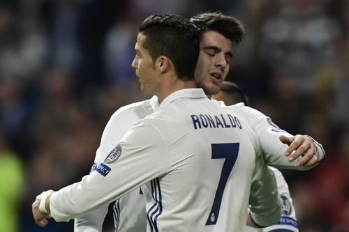 Cristiano no marcó en la goleada merengue. (Foto: AFP)