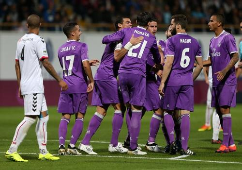 Nacho marcó el gol de su carrera. (Foto: AFP)