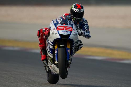 Jorge Lorenzo se ubicó tercero tras finalizar la etapa de entrenamientos. (Foto: Mohd Rasfan/AFP)