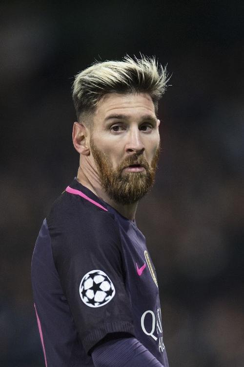 Messi metió un gol pero después le salió todo mal. (Foto: AFP)