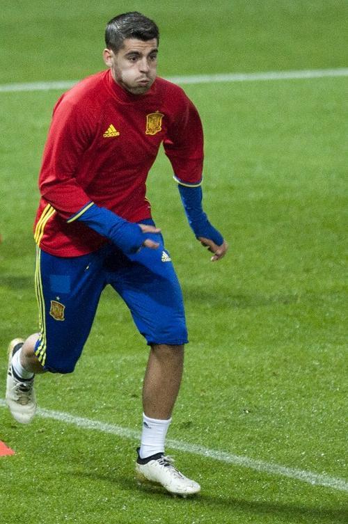 Morata se lesionó con la selección. (Foto: AFP)
