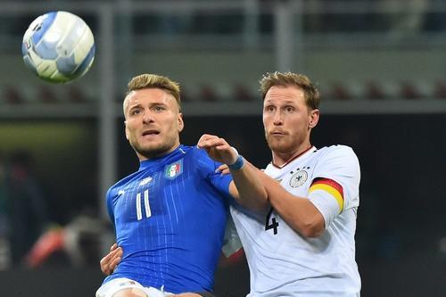 Italia y Alemania igualaron sin goles en un buen partido. (Foto: AFP)