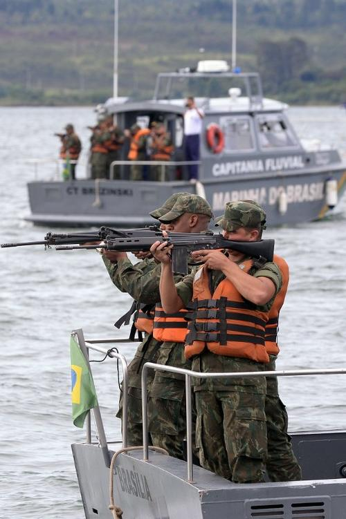 La Marina de Brasil debe asegurar todas las áreas marítimas durante la Copa del Mundo 2014