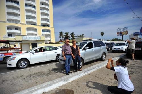 """El Condominio Miramar, donde fue capturado Joaquín """"el Chapo"""" Guzmán. (Foto: AFP)"""
