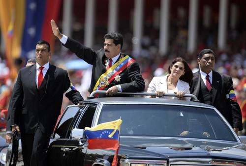 El anuncio del rompimiento lo hizo Maduro durante los actos de conmemoración del aniversario luctuoso de Hugo Chávez. (Foto: AFP)