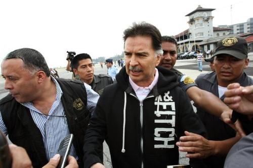 El 24 de mayo de 2013 fue extraditado Alfonso Portillo a Estados Unidos, en aquella fecha se encontraba recluido en el Centro Médico Militar. (Foto:AFP)