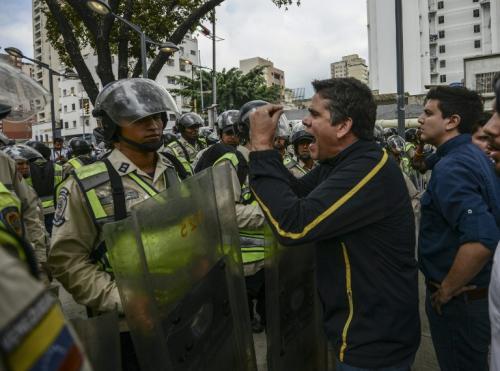 Manifestaciones en contra del fallo de la Máxima corte. (Foto: AFP)
