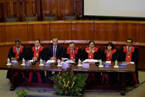 La Máxima corte renunció a asumir poderes del Congreso (Foto: AFP)