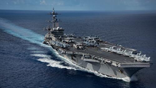 El USS Carl Vinson navegó hasta el continente asiático. (Foto: AFP)