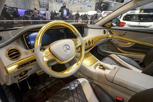 El auto ha sido fabricado con el mismo afán de detalla que el Castillo de Versalles, símbolo por antonomasia de lujo absoluto. (Foto:AFP)
