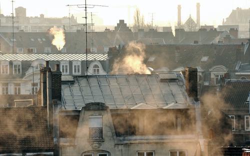 Vista del centro de la ciudad Lille Norte de Francia. (Foto:AFP)