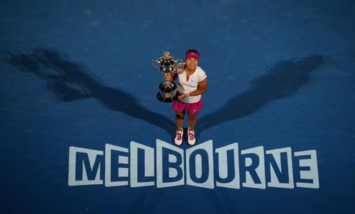 Melbourne, Australia, fue el escenario donde Na Li por fin se coronó, tras llegar a 2 finales en este evento. (Foto: William West/AFP)