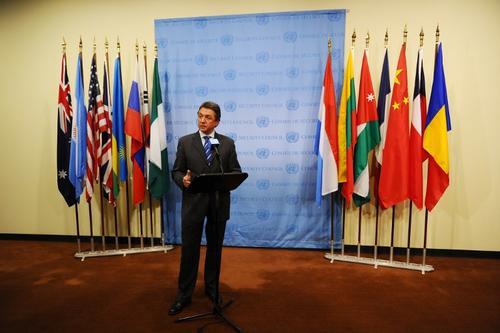 El embajador de Ucrania ante la ONU pide a los miembros que eviten la agresión rusa a su país. (Foto: AFP)