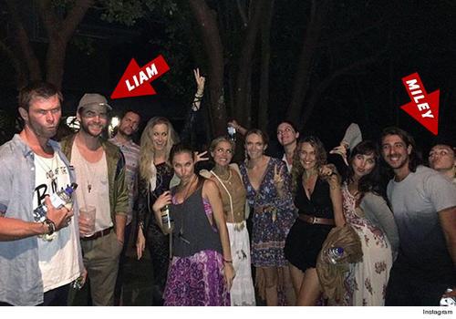 """Cyrus y Liam se conocieron cuando filmaban """"The last song"""""""