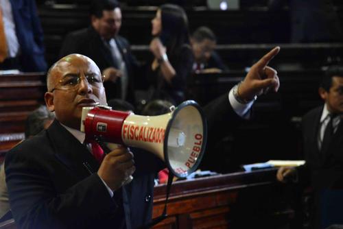 El diputado Luis Chávez, polémico dentro del Congreso y con proceso de antejuicio, tiene altas probabilidades de ser reelecto. (Foto: Archivo/Soy502)