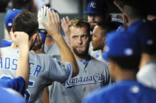 Los Reales de Kansas podrían emparejar la serie o quedar eliminados en el siguiente juego ante los Astros. (Foto: AFP)