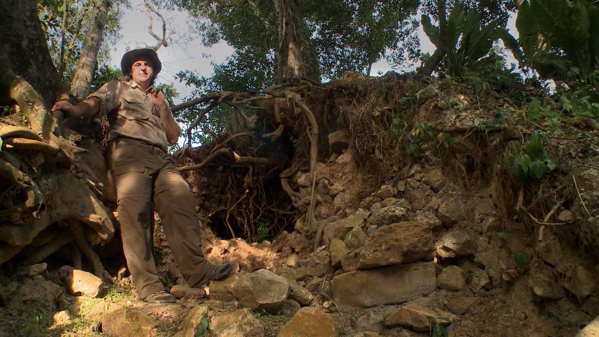 Marcello A. Canuto es el arqueólogo que está al frente de las investigaciones en El Achiotal.