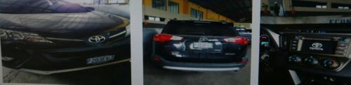 Vista del vehículo que compró la empleada judicial.