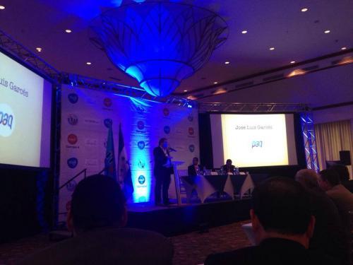 """Los creadores de """"Paq"""", de la empresa posmóvil, fueron galardonados en el certamen sobre innovación tecnológica. (Foto: Facebook Posmóvil)"""