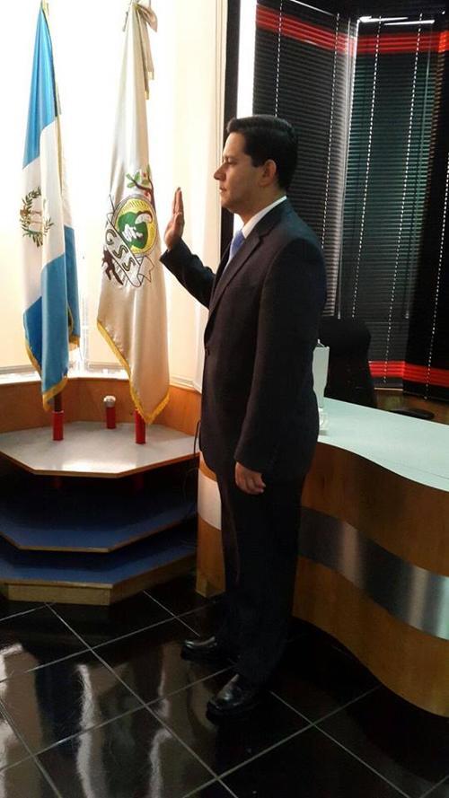 Álvaro Trujillo es Director suplente del IGSS por designación de la Junta Monetaria. (Foto: Álvaro Trujillo/Facebook)