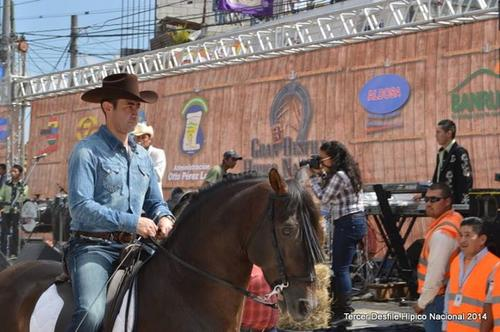 Otto Pérez Leal participó en las tres ediciones anteriores. (Foto Facebook/Desfile Hípico Nacional)
