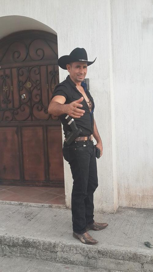"""El alcalde de Ipala, más conocido como """"tres quiebres"""". (Foto: Facebook)"""