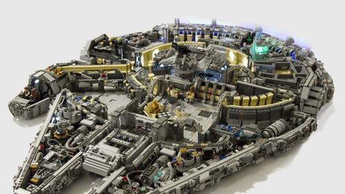 El Halcón Milenario de Star Wars fue una de las figuras de Lego más solicitadas en 2015. (Foto: alfabetajuega.com)