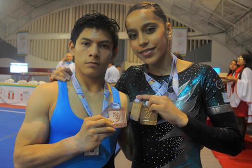 En los últimos Juegos Panamericanos de Toronto 2015, Jorge Vega ganó medalla de oro en la prueba de piso y Ana Sofía bronce, también en piso. (Foto: Archivo)