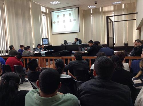 A pesar que los implicados se negaron a declarar, la audiencia duró tres días. (Foto Marcia Zavala/Soy502)