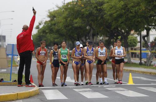 El Campeonato Sudamericano de Marcha Atlética es la primera competencia oficial para los guatemaltecos en el 20104. (COG)