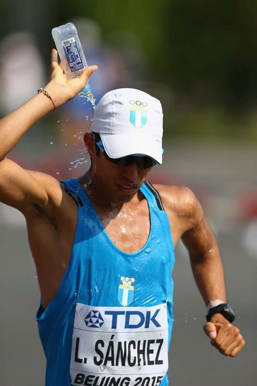 Luis Ángel compitió el año pasado en el Mundial de Atletismo, en Beijing, China. (Foto: COG)