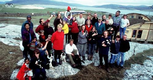 Los concursantes tienen que sobrevivir en los bosques del norte de Escocia. (Foto: Channel 4)
