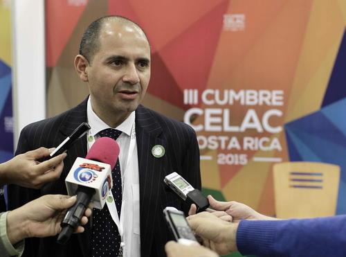 El canciller de Costa Rica anunció la reunión con sus homólogos para este martes. (Foto: EFE)
