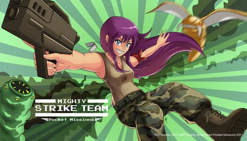 """""""Mighty Strike Team"""" se lanzó a principios de octubre y ha tenido una gran aceptación por los internautas. (Foto"""" 502 Studios)"""