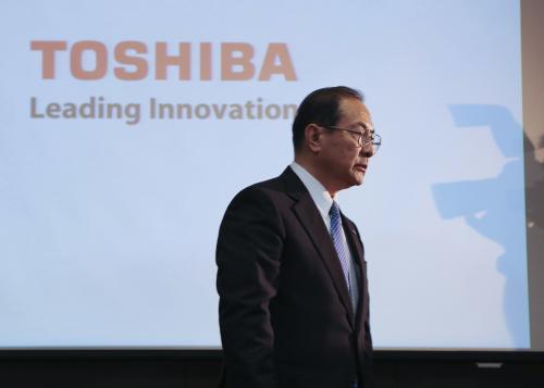 El presidente de la compañía nipona Toshiba, Masashi Muromachi. (Foto: EFE/Archivo)